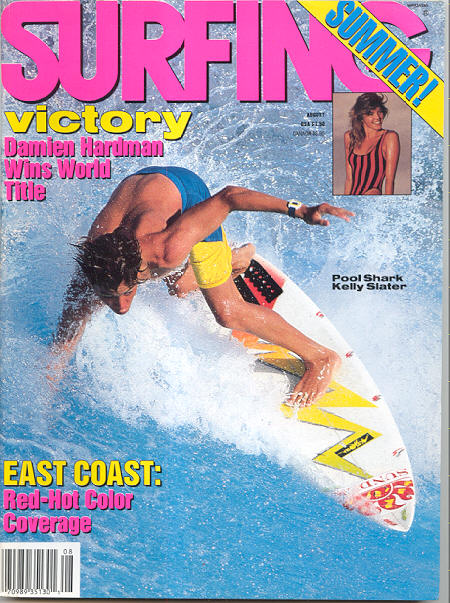 Slater cover surfing 1988