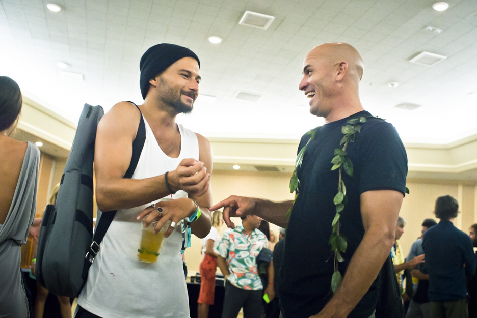Dion Agius and Kelly Slater, 2014 Surfer Poll