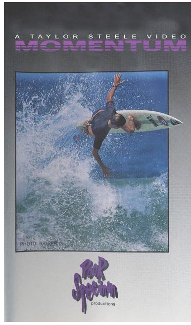 Kelly Slater on cover of Momentum