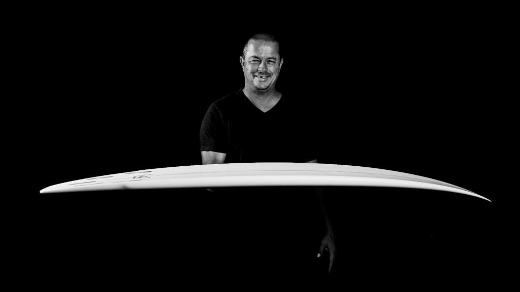 Greg Webber and banana board