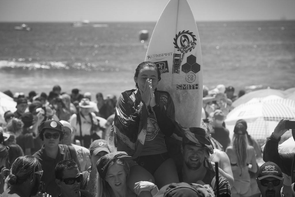 Johanne Defay wins US Open of Surfing