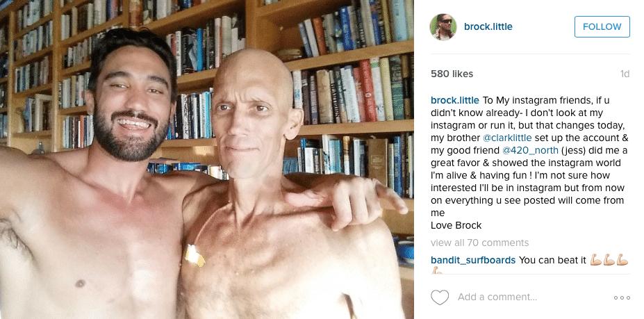 Brock Little cancer