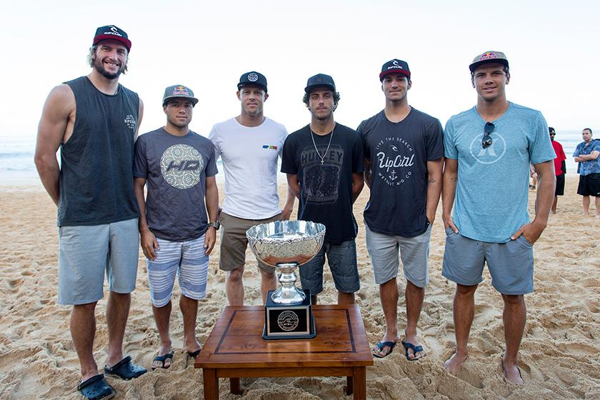 2015 WSL world title contenders