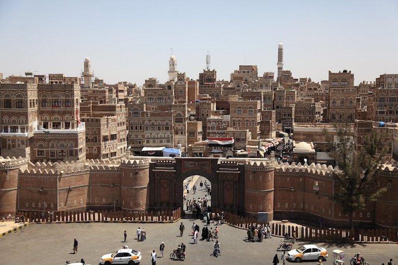 Sana'a's old city pre-war.
