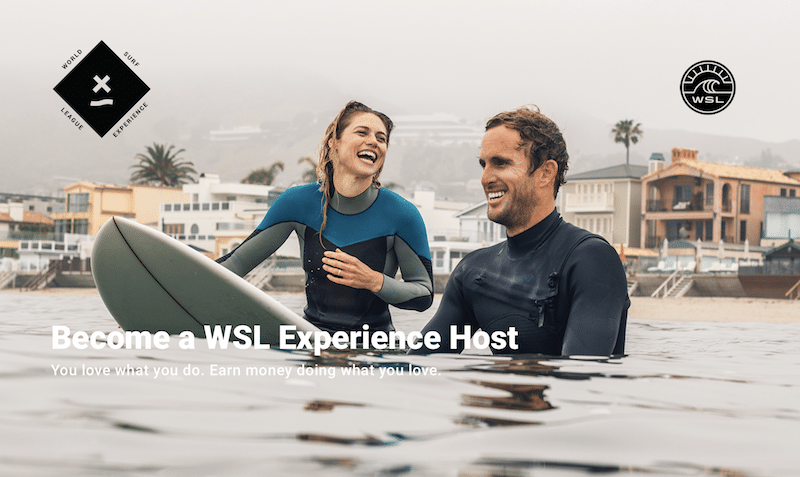 Vocation The Wsl Wants Airbnb Surf Experience Hosts Beachgrit